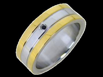 Modell Reese - 1 Ring aus Edelstahl