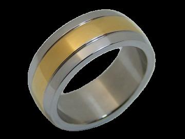 Modell Justin - 1 Ring aus Edelstahl