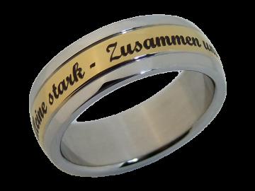 Modell Karl - 1 Ring aus Edelstahl