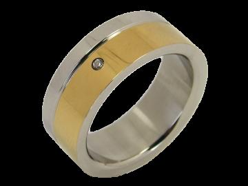 Modell Marie - 1 Ring aus Edelstahl