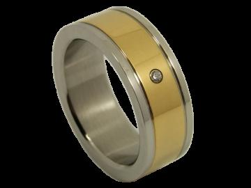 Modell Mathis - 1 Ring aus Edelstahl