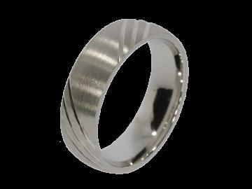 Model Jasmin - 1 ring made of genuine silver
