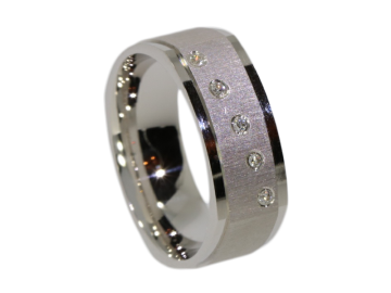 Modell Cosmo - 1 Ring aus Silber