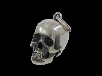 Anhänger Totenkopf 925er Silber geschwärzt