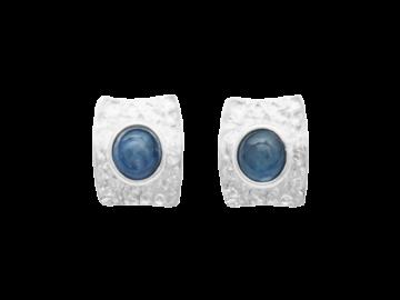 Ohrstecker Wasserblau aus 925er Sterling-Silber