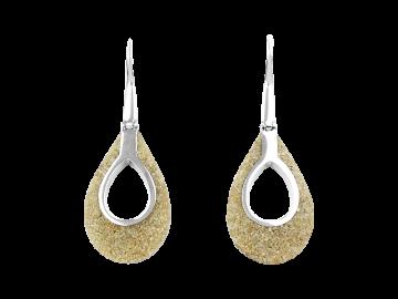 2 Ohrringe Gota aus 925er Sterling-Silber