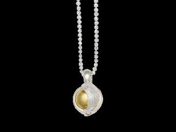 Klangkugel Himmelspforte klein 925er Sterling-Silber
