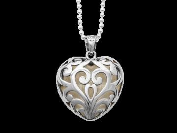 Herzklopfen - Anhänger aus 925er Sterling-Silber