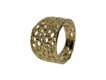 Ring Lochschmuck 925er Silber in 4 Farben