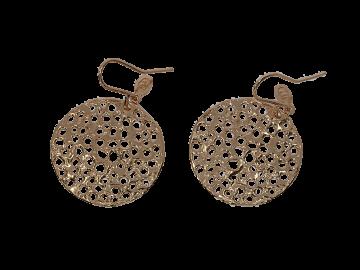 Lochschmuck mittlerer Ohrhänger 925er Silber