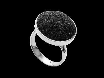 Modell Lavastrand rund - 1 Ring aus 925er Silber