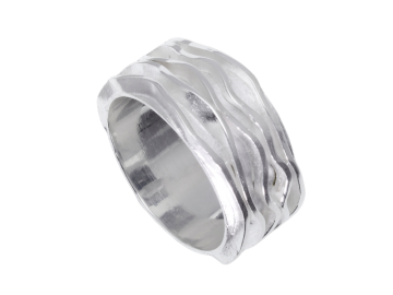 Modell Wellenspiel II - 1 Ring aus 925er Silber
