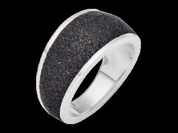 Modell Lavastrand breit - 1 Ring aus 925er Silber