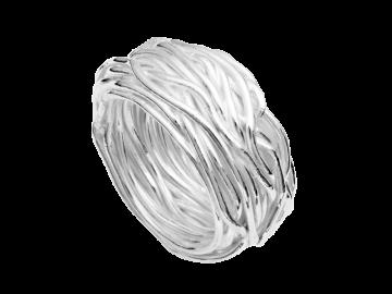 Modell Silberdraht - 1 Ring aus 925er Silber