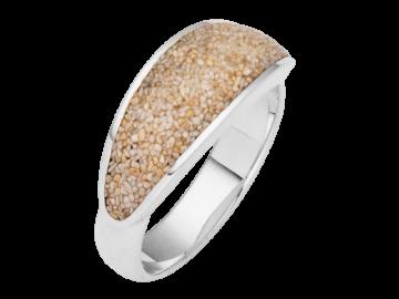 Modell Strandsand - 1 Ring aus 925er Silber