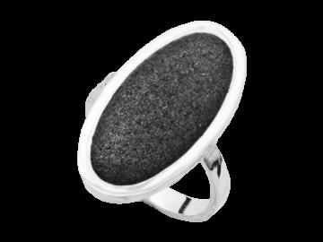 Modell Lavastrand oval - 1 Ring aus 925er Silber