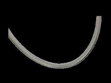 Schlangen-Halskette 50 cm aus Edelstahl