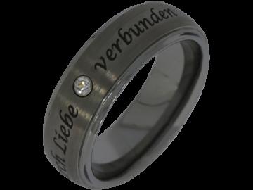 Modell George - 1 Ring aus Wolfram